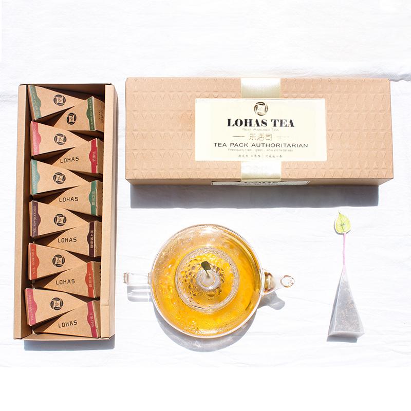 创意新款金字塔形茶包袋泡茶定制OEM贴牌花草茶养生保健茶加工